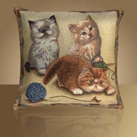 """Чехол на подушку """"Персидские котята"""""""