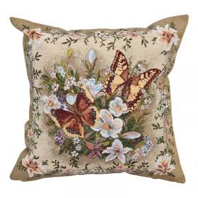 "Чехол на подушку ""Солнечная бабочка"""