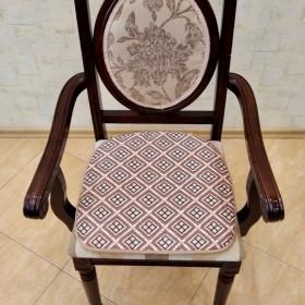 Сиденье на стул из ткани Фантазия 101/1